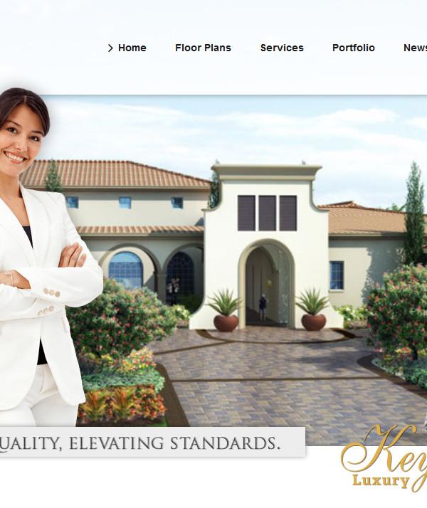 Key_Luxury_Builders web design