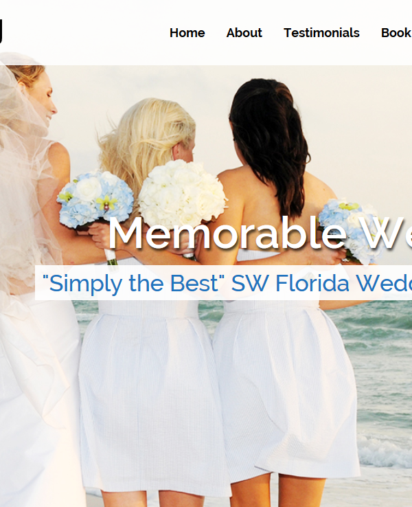 Cape coral Web Design DJ Wedding